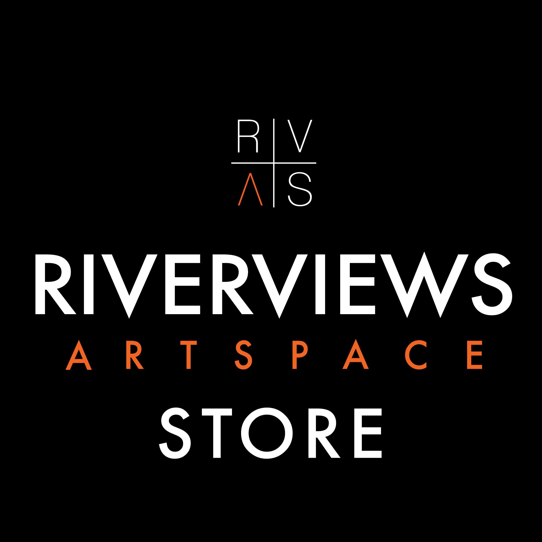 Riverviews Artspace Shop Logo