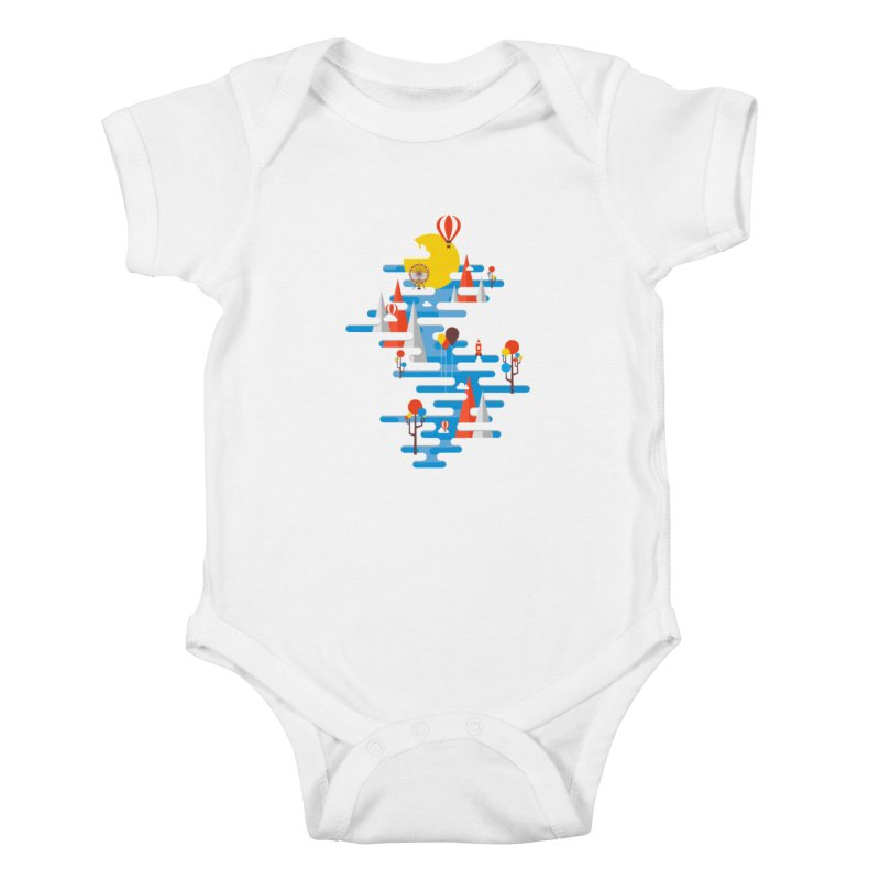 A Beautiful Day Kids Baby Bodysuit by Arrivesatten Artist Shop