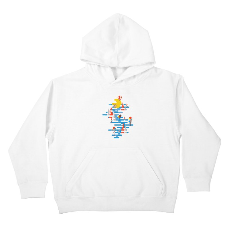 A Beautiful Day Kids Pullover Hoody by Arrivesatten Artist Shop