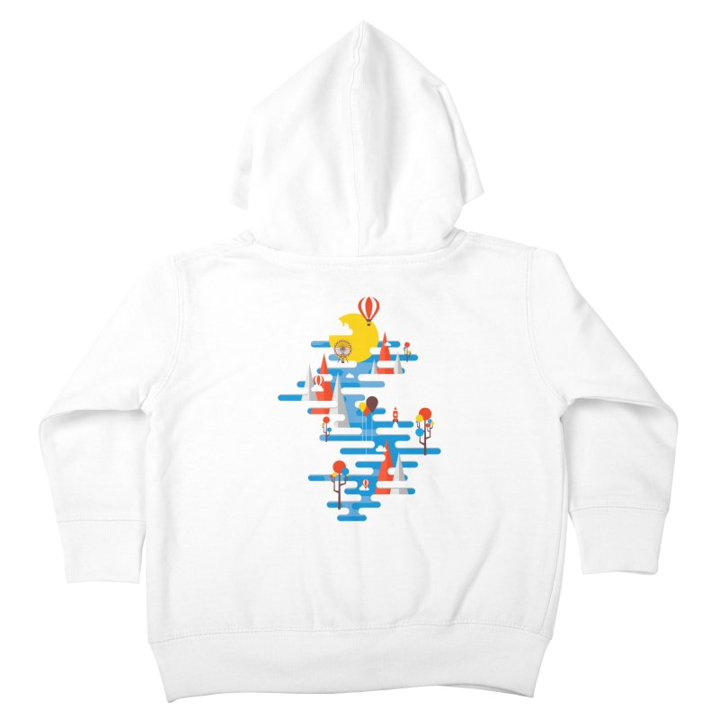 A Beautiful Day Kids Toddler Zip-Up Hoody by Arrivesatten Artist Shop