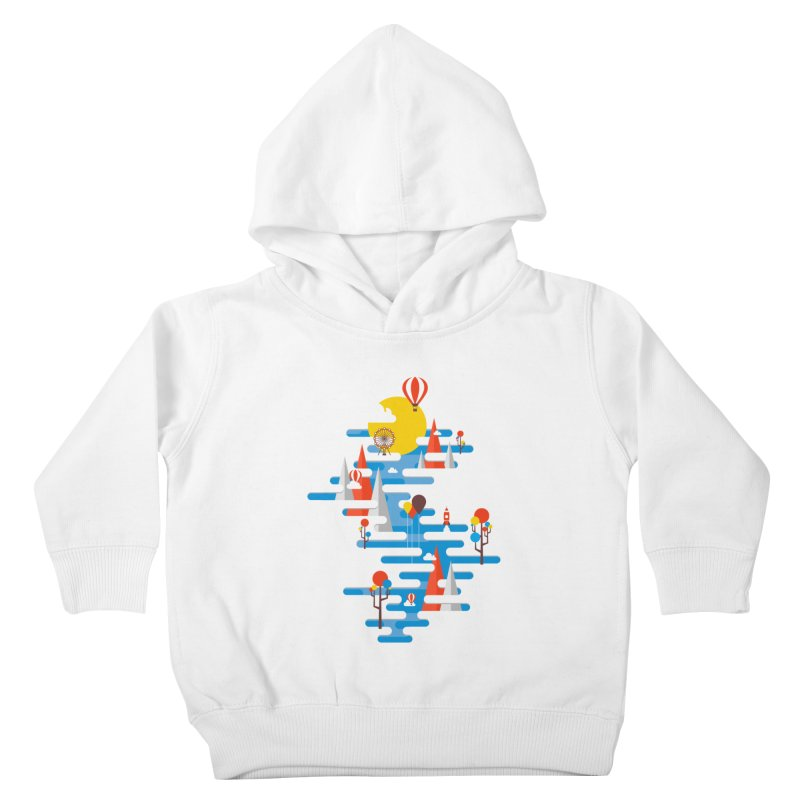 A Beautiful Day Kids Toddler Pullover Hoody by Arrivesatten Artist Shop