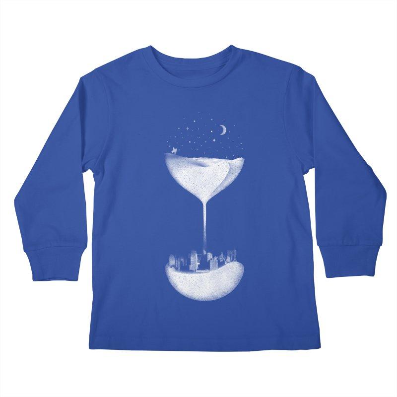 Time Travels Kids Longsleeve T-Shirt by Arrivesatten Artist Shop