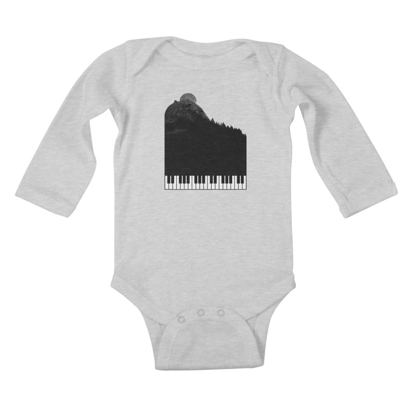 Sound Of Nature Kids Baby Longsleeve Bodysuit by Arrivesatten Artist Shop