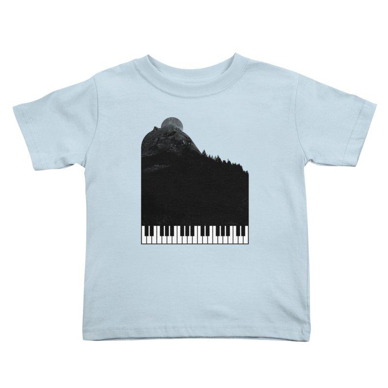 Sound Of Nature Kids Toddler T-Shirt by Arrivesatten Artist Shop