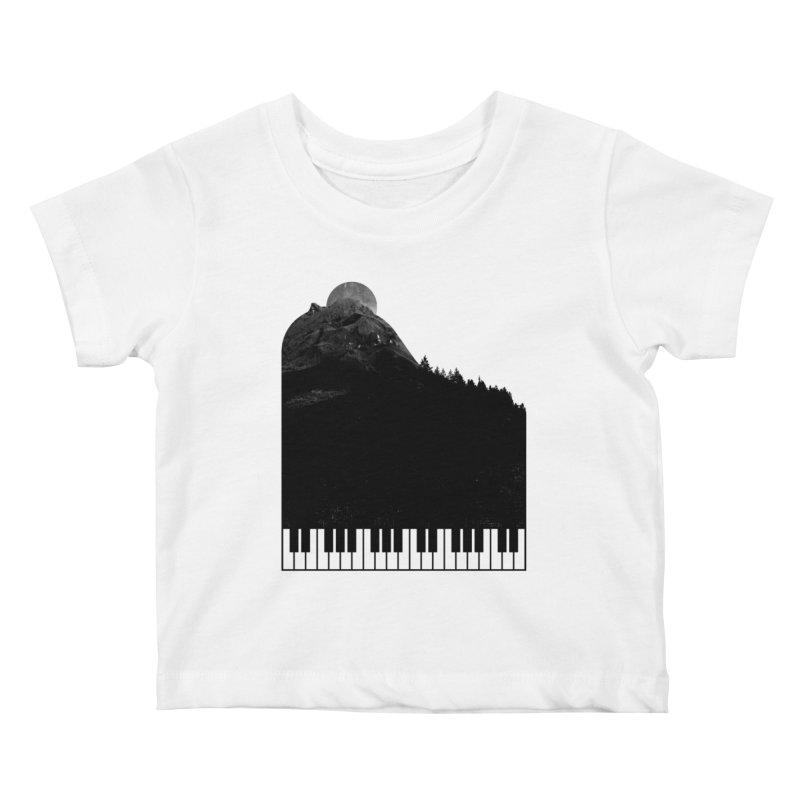 Sound Of Nature Kids Baby T-Shirt by Arrivesatten Artist Shop