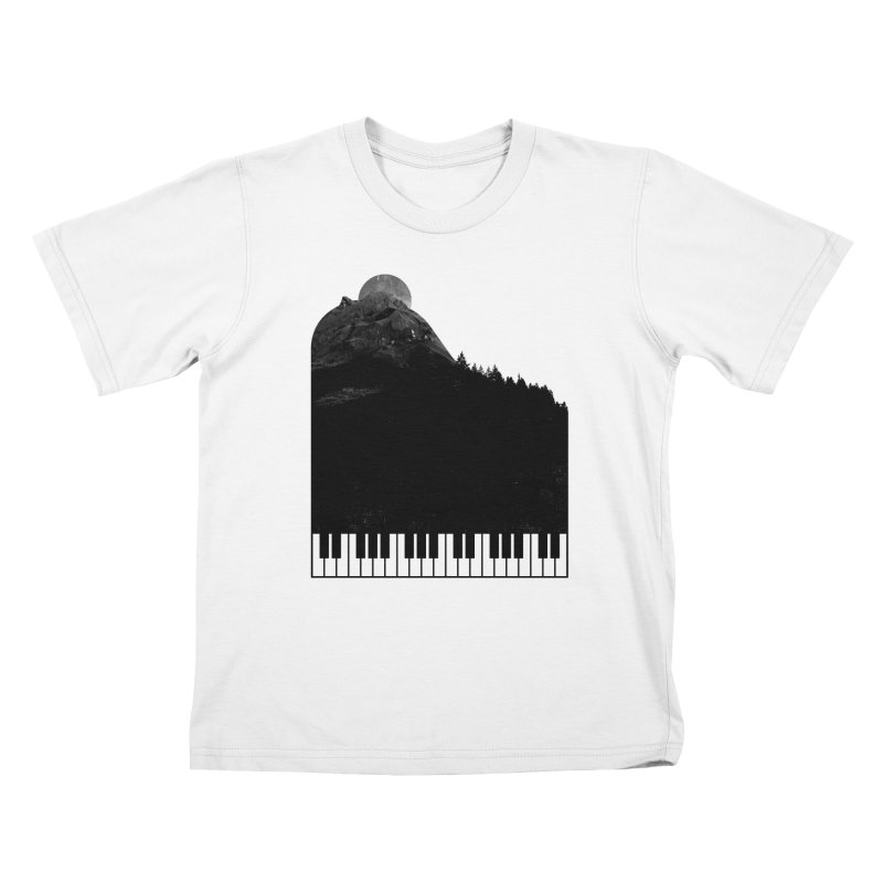Sound Of Nature Kids T-shirt by Arrivesatten Artist Shop