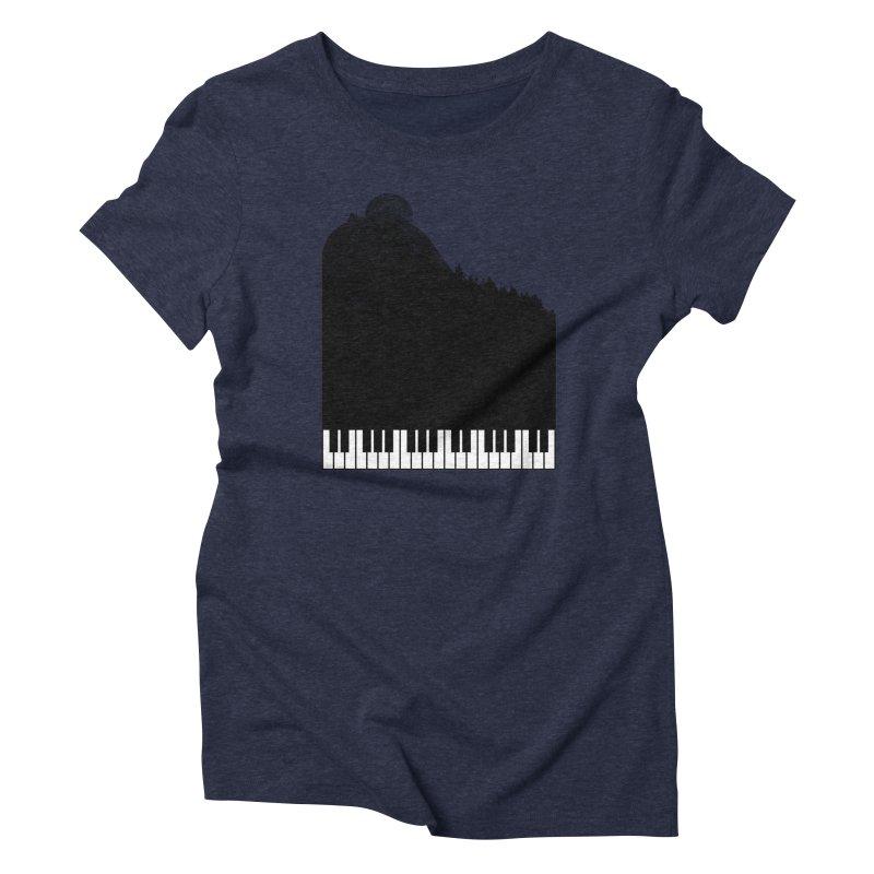 Sound Of Nature Women's Triblend T-shirt by Arrivesatten Artist Shop