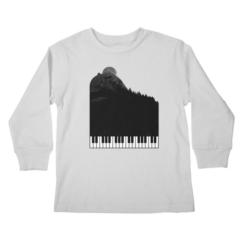 Sound Of Nature Kids Longsleeve T-Shirt by Arrivesatten Artist Shop