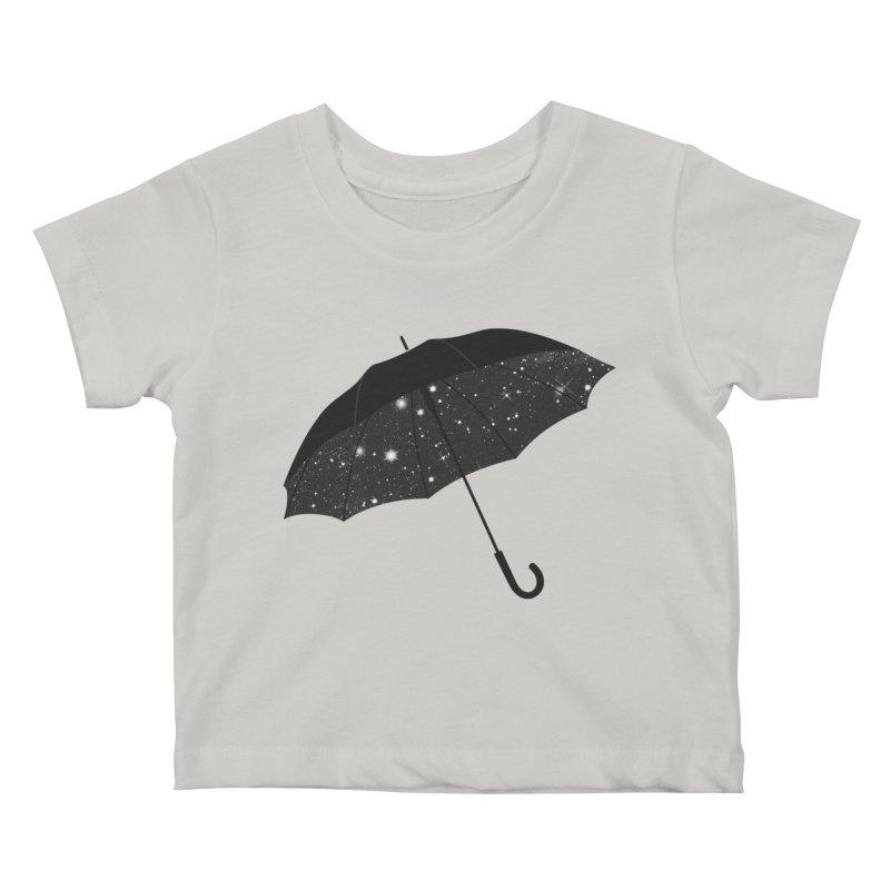 Full Of Stars Kids Baby T-Shirt by Arrivesatten Artist Shop
