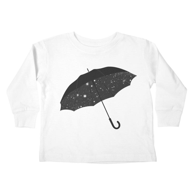 Full Of Stars Kids Toddler Longsleeve T-Shirt by Arrivesatten Artist Shop