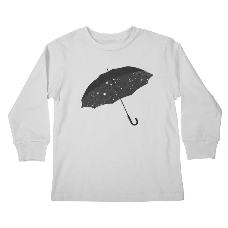 Full Of Stars Kids Longsleeve T-Shirt by Arrivesatten Artist Shop
