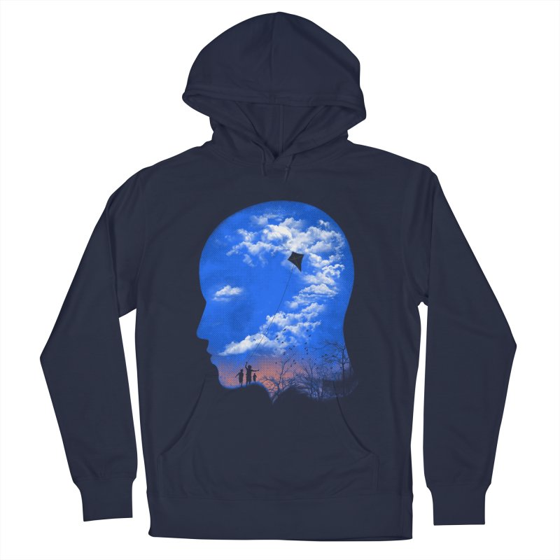 Flying Kite Men's Pullover Hoody by Arrivesatten Artist Shop