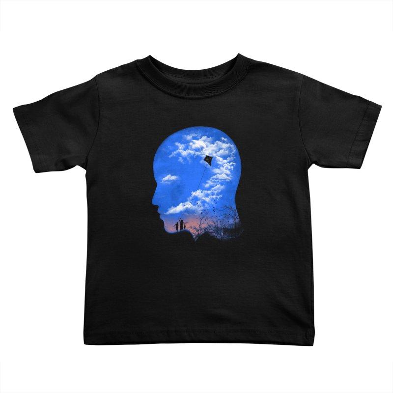 Flying Kite Kids Toddler T-Shirt by Arrivesatten Artist Shop