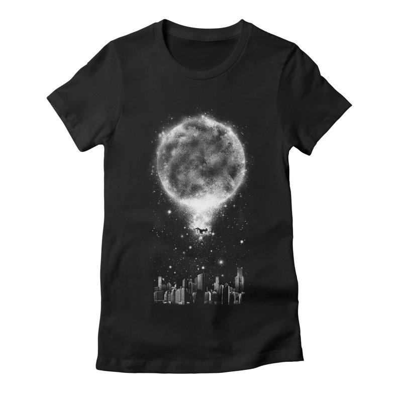 Take Me Back Home Women's Fitted T-Shirt by Arrivesatten Artist Shop