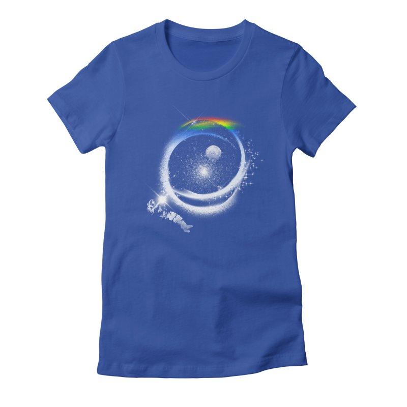 Brightest Hope Women's Fitted T-Shirt by Arrivesatten Artist Shop