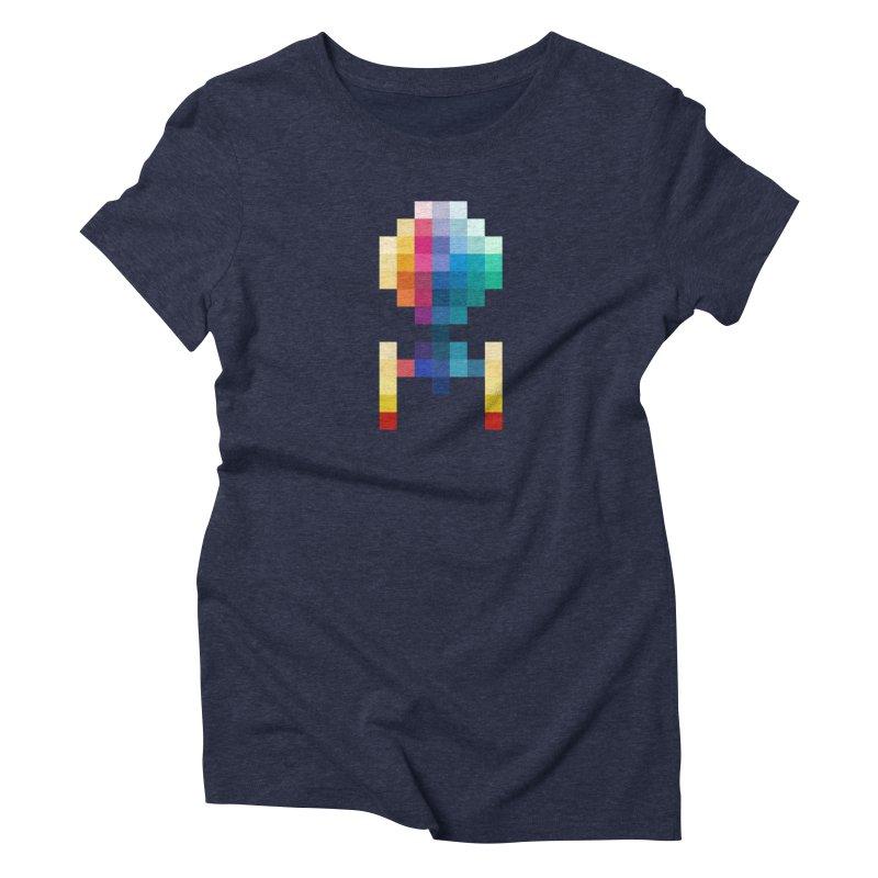 Color Palette Women's Triblend T-shirt by Arrivesatten Artist Shop