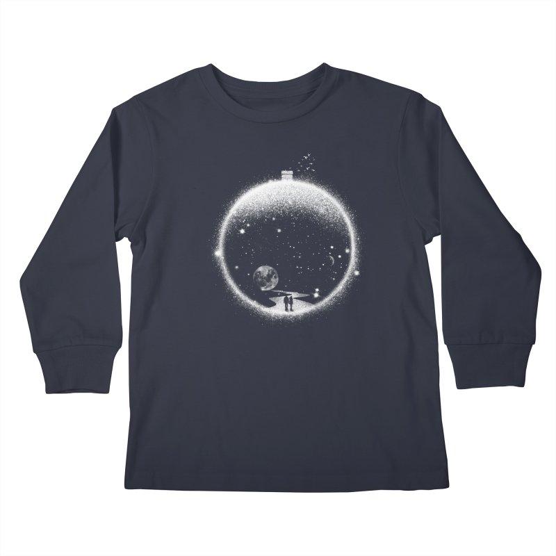 Utopia Kids Longsleeve T-Shirt by Arrivesatten Artist Shop