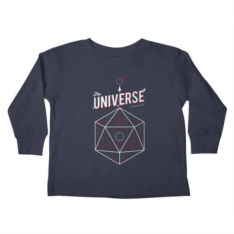 Voyage Kids Toddler Longsleeve T-Shirt by Arrivesatten Artist Shop