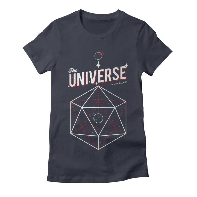 Voyage Women's Fitted T-Shirt by Arrivesatten Artist Shop