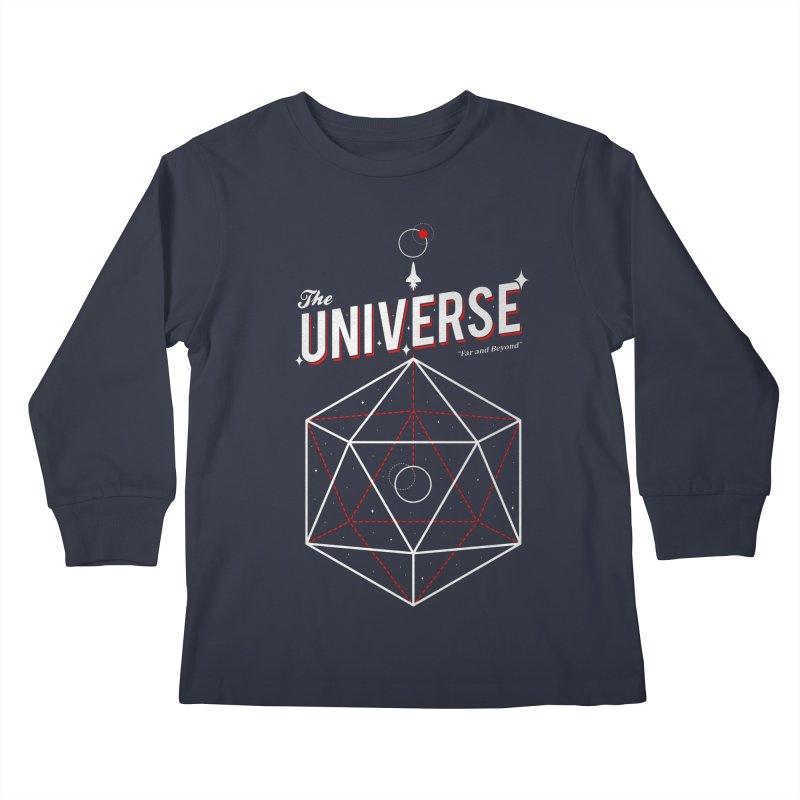 Voyage Kids Longsleeve T-Shirt by Arrivesatten Artist Shop