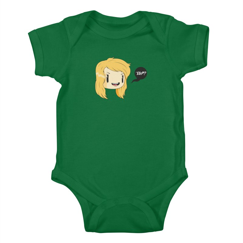 'sup? Kids Baby Bodysuit by Rizzofied