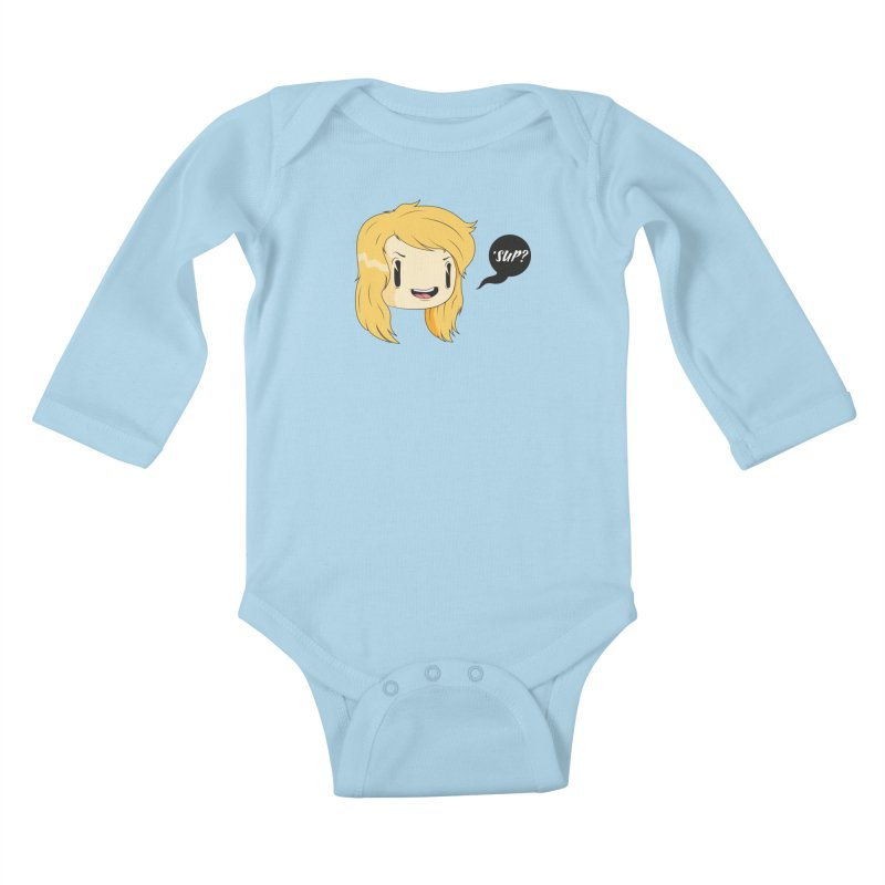 'sup? Kids Baby Longsleeve Bodysuit by Rizzofied
