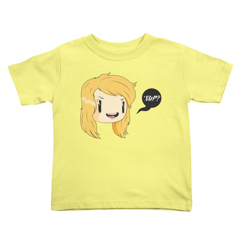 'sup? Kids Toddler T-Shirt by Rizzofied