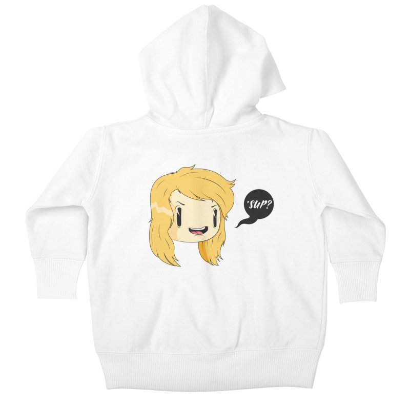 'sup? Kids Baby Zip-Up Hoody by Rizzofied
