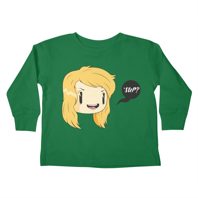 'sup? Kids Toddler Longsleeve T-Shirt by Rizzofied