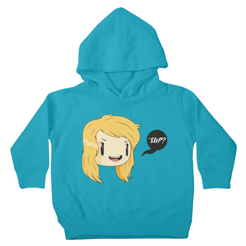 'sup? Kids Toddler Pullover Hoody by Rizzofied