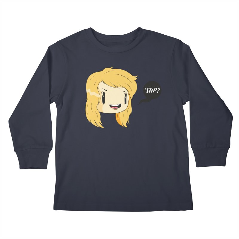 'sup? Kids Longsleeve T-Shirt by Rizzofied