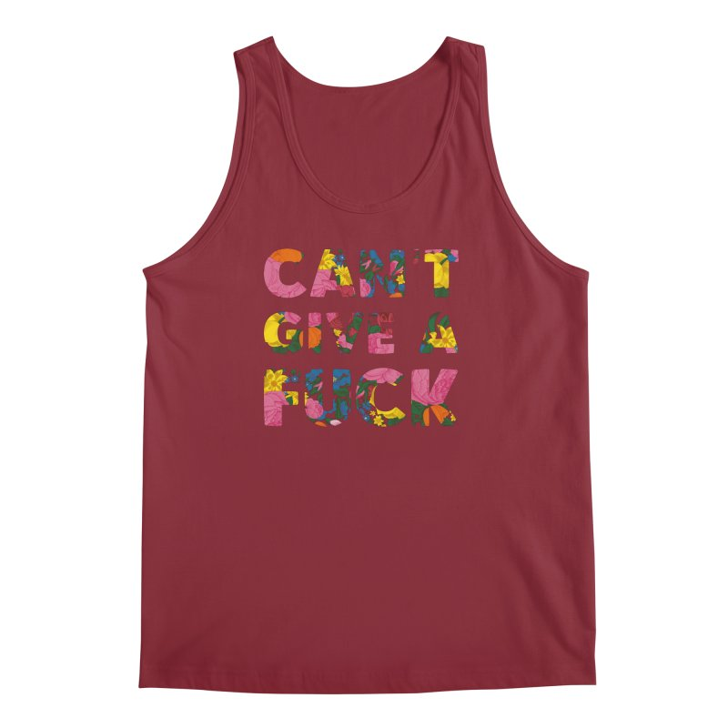 Can't Give A Fuck Men's Tank by Rizzofied