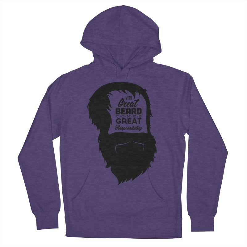 Great Beard Men's Pullover Hoody by Rizzofied