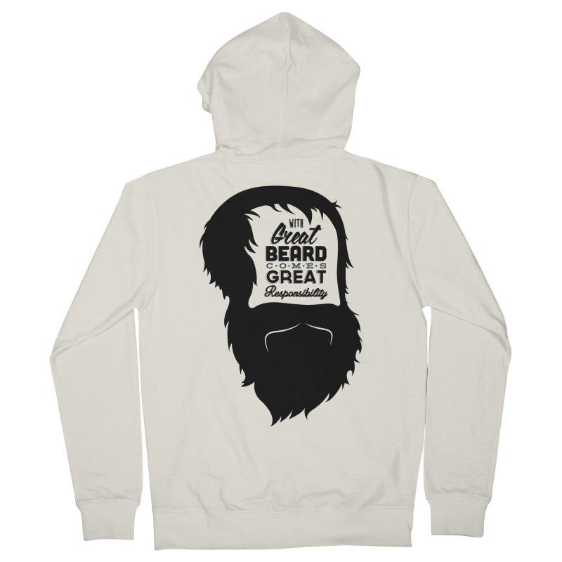 Great Beard Women's Zip-Up Hoody by Rizzofied