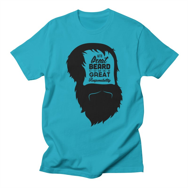 Great Beard Men's T-Shirt by Rizzofied