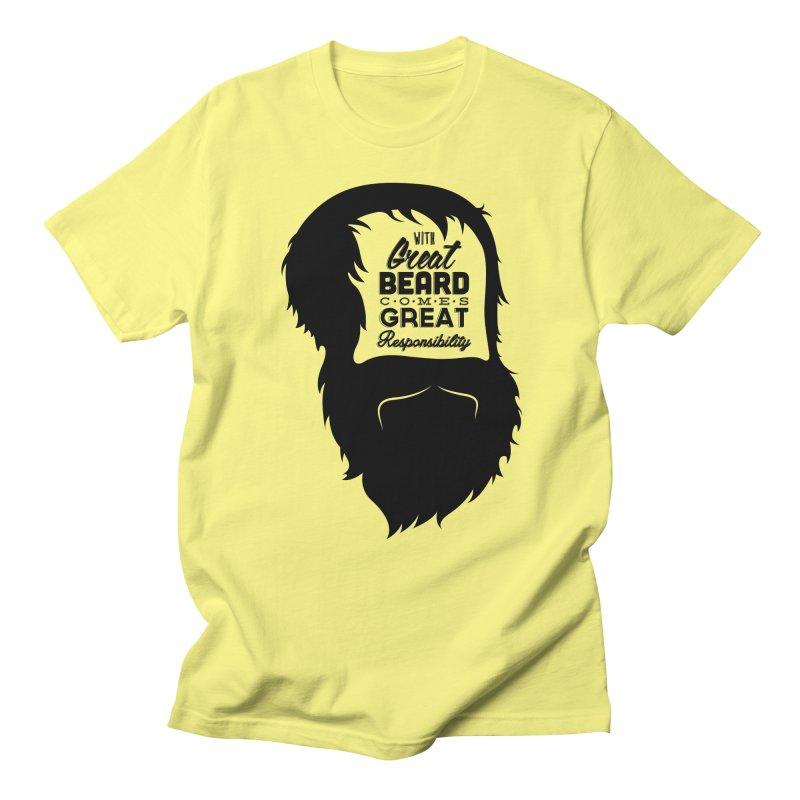 Great Beard Men's T-Shirt by Rizzofied