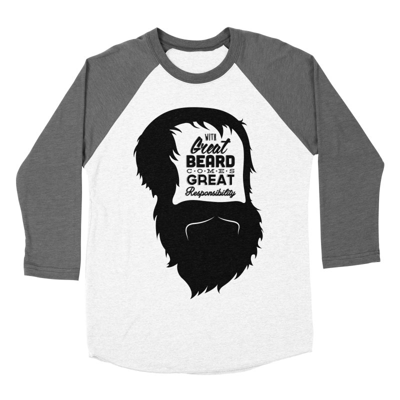 Great Beard Women's Baseball Triblend T-Shirt by Rizzofied