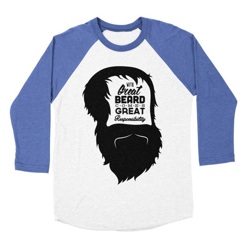 Great Beard Men's Baseball Triblend T-Shirt by Rizzofied