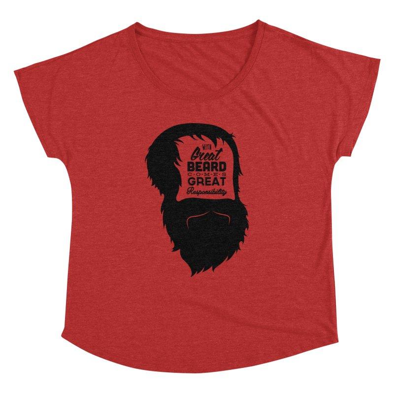 Great Beard Women's Dolman by Rizzofied