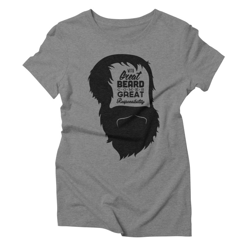 Great Beard Women's Triblend T-shirt by Rizzofied
