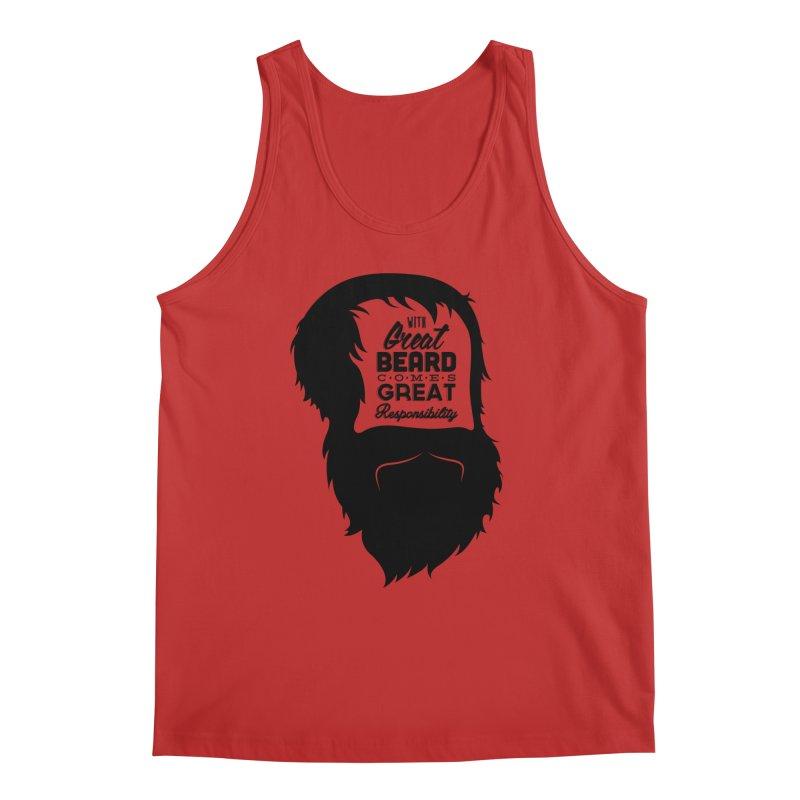 Great Beard Men's Tank by Rizzofied