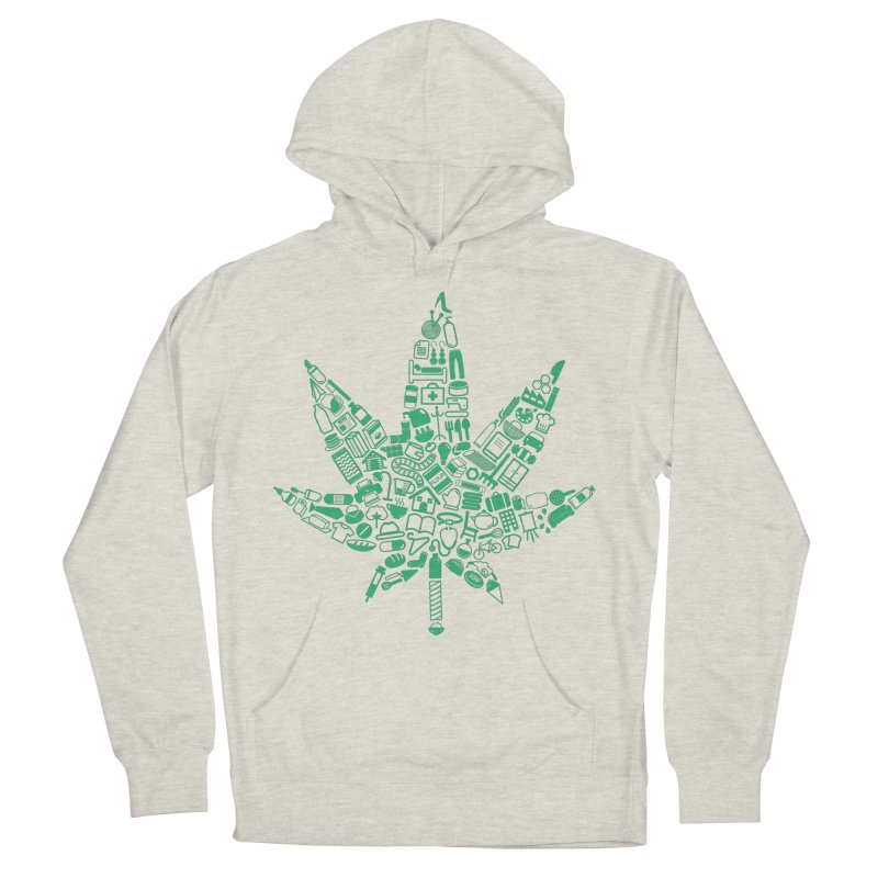 Useful Hemp Men's Pullover Hoody by Rizzofied