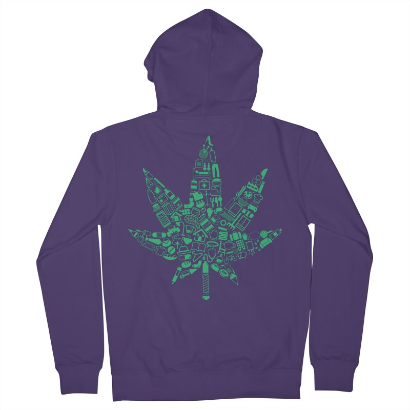 Useful Hemp Women's Zip-Up Hoody by Rizzofied