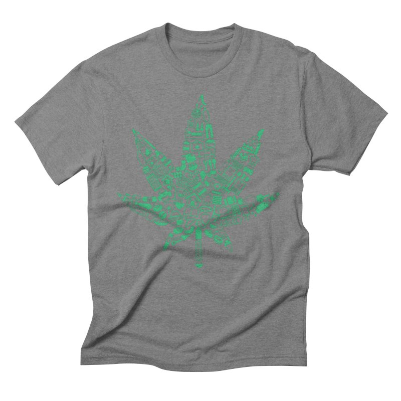 Useful Hemp Men's Triblend T-shirt by Rizzofied