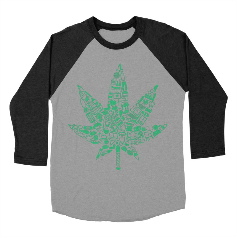 Useful Hemp Men's Baseball Triblend T-Shirt by Rizzofied