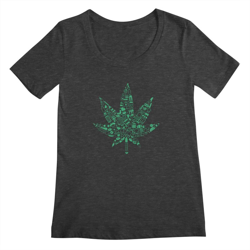 Useful Hemp Women's Scoopneck by Rizzofied