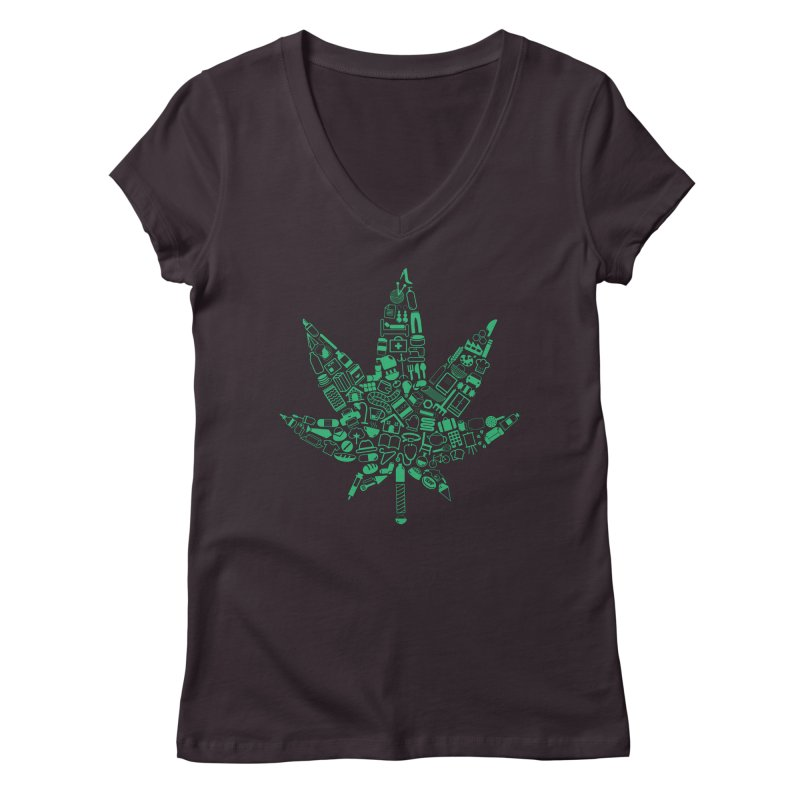 Useful Hemp Women's V-Neck by Rizzofied