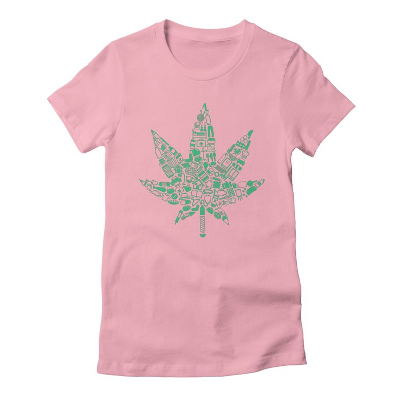 Useful Hemp Women's Fitted T-Shirt by Rizzofied