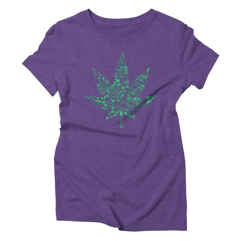 Useful Hemp Women's Triblend T-shirt by Rizzofied