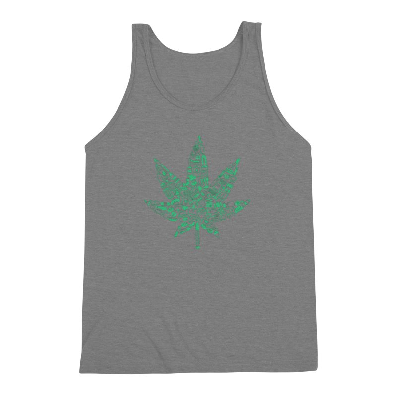 Useful Hemp Men's Triblend Tank by Rizzofied